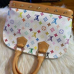Louis Vuitton Alma Pm Multi color handbag only